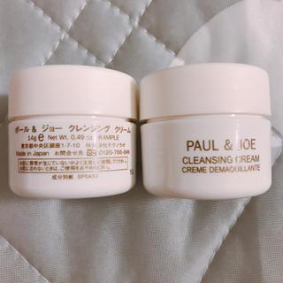 ポールアンドジョー(PAUL & JOE)のポール&ジョー クレンジング クリーム 二個(クレンジング/メイク落とし)
