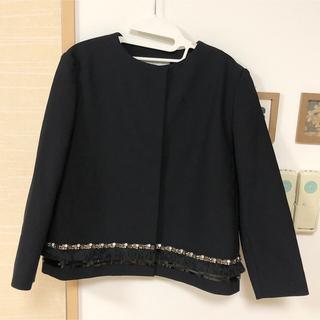 プロポーションボディドレッシング(PROPORTION BODY DRESSING)の新品未使用 ボディドレッシング ノーカラージャケット 34 36 38(ノーカラージャケット)