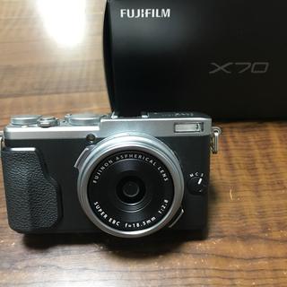 富士フイルム - フジフィルム X70  単焦点 コンパクトデジタルカメラ
