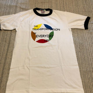グッドイナフ(GOODENOUGH)のデッドストック READYMADE購入 MORE ABOUT LESSリンガーT(Tシャツ/カットソー(半袖/袖なし))