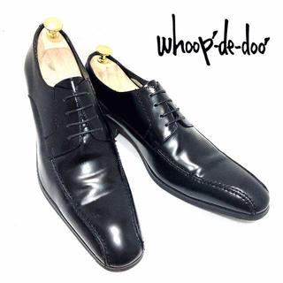 REGAL - 美品 whoop-de-doo 43 28cm相当 スワールトゥ 革靴黒ブラック