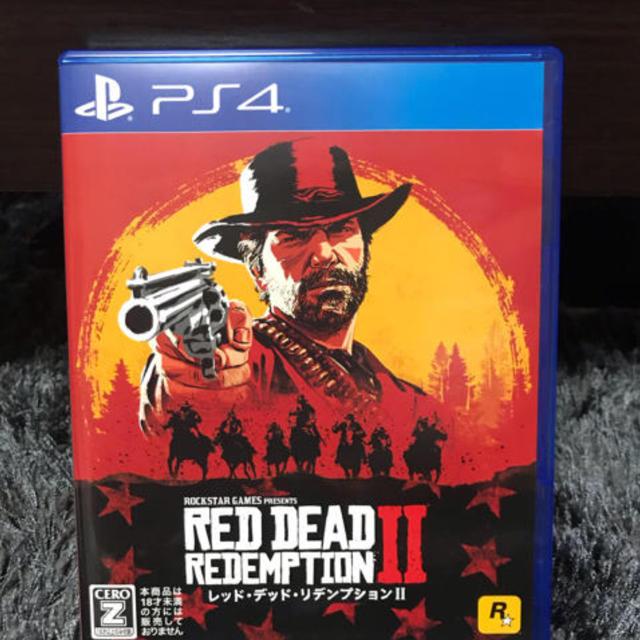 PlayStation4(プレイステーション4)のレッドデッドリデンプション2  エンタメ/ホビーのゲームソフト/ゲーム機本体(家庭用ゲームソフト)の商品写真