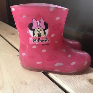 ディズニー(Disney)のディズニー ミニー 長靴13.0センチ(長靴/レインシューズ)