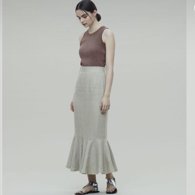 Plage(プラージュ)のuncrave リネン マーメイドスカート レディースのスカート(ロングスカート)の商品写真
