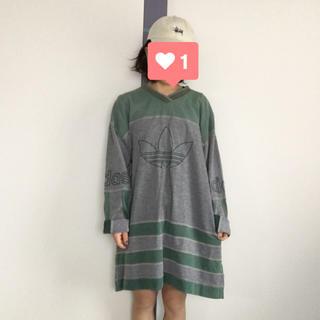 アディダス(adidas)のUSED adidas ラグランTEE(Tシャツ/カットソー(七分/長袖))
