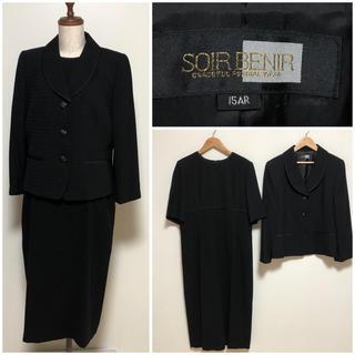 ソワール(SOIR)のソワール ブラックフォーマル  15号 (礼服/喪服)