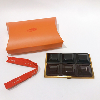 ビームス(BEAMS)のjitta チョコレート 名刺入れ カードケース 真鍮 真ちゅう 板チョコ(名刺入れ/定期入れ)