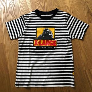 エックスガールステージス(X-girl Stages)のXLARGE  KIDS☆ラージキッズ☆ミッキーコラボTシャツ 140.美品♪(Tシャツ/カットソー)