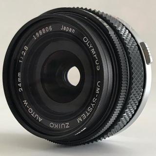 オリンパス(OLYMPUS)の【値下げしました】オリンパス ZUIKO AUTO-W 24mm F2.8(レンズ(単焦点))