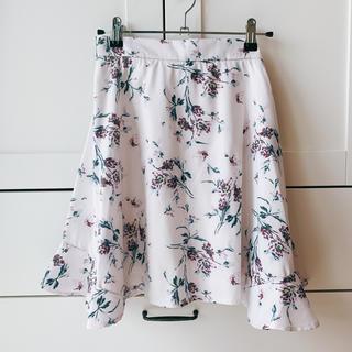 スナイデル(snidel)の花柄スカート(ミニスカート)