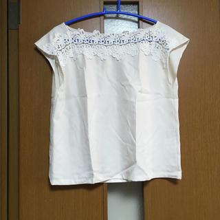 クチュールブローチ(Couture Brooch)のクチュールブローチ デコルテレースブラウス(シャツ/ブラウス(半袖/袖なし))