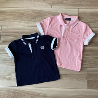 コムサイズム(COMME CA ISM)のコムサイズム ポロシャツ セット 100  90(Tシャツ/カットソー)