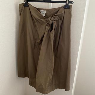 ドリスヴァンノッテン(DRIES VAN NOTEN)のDRIES VAN NOTEN スカート コットン 38サイズ(ひざ丈スカート)