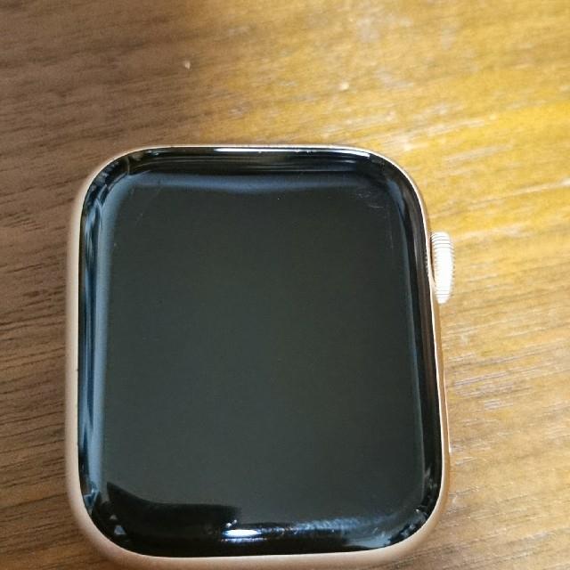 Apple Watch(アップルウォッチ)のアップルウォッチ シリーズ4 ピンクゴールド メンズの時計(腕時計(デジタル))の商品写真