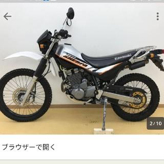 カワサキ - スーパーシェルパ 250 引取り限定 不動車