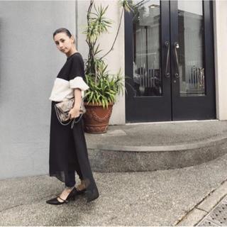 Ameri VINTAGE - LOGO FASTENER SWEAT DRESS
