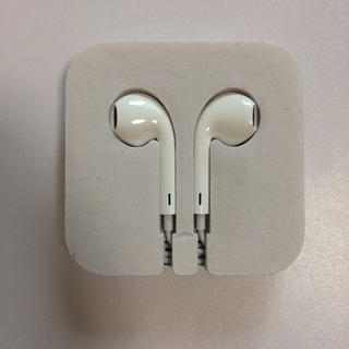 アイポッドタッチ(iPod touch)の送料無料 Appleイヤホン 純正 iPod touch 第6世代 未使用(ヘッドフォン/イヤフォン)