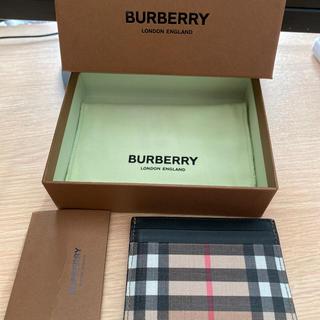 バーバリー(BURBERRY)のBurberry カードケース バーバリーチェック(名刺入れ/定期入れ)