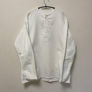 マルタンマルジェラ(Maison Martin Margiela)のロシア軍 スリーピングシャツ ホワイト dead stock(シャツ)