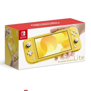 ニンテンドースイッチ(Nintendo Switch)の任天堂 スイッチ ライト イエロー(家庭用ゲーム機本体)