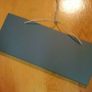 【新品未使用】黒板 壁掛け黒板プレート ウェルカムボード プレート ボード(カレンダー/スケジュール)