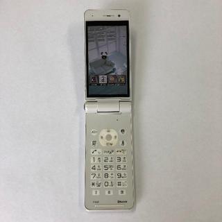 パナソニック(Panasonic)のdocomo P-01F ホワイト(携帯電話本体)