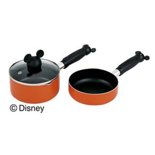 ディズニー(Disney)のデイジー フライパン&ポットセット14cm(鍋/フライパン)