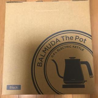 バルミューダ(BALMUDA)のBALMUDA The Pot バルミューダ(電気ケトル)