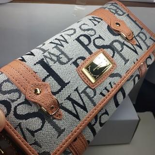 ピンキーウォルマン(pinky wolman)の新品未使用、pinky'wolman、長財布ふた付タイプ、シルク(財布)
