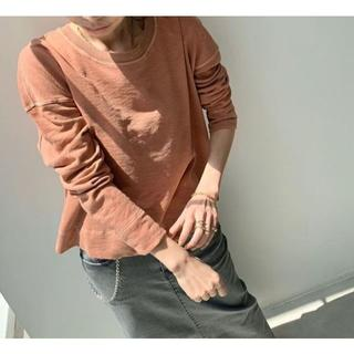 L'Appartement DEUXIEME CLASSE - JAMES PERSE ジェームスパース SWEAT TOPS ピンク