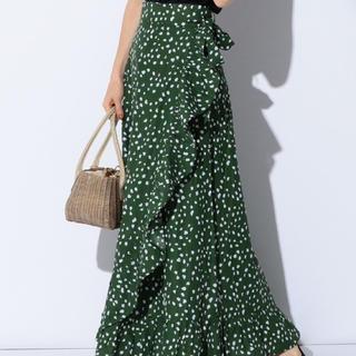 デミルクスビームス(Demi-Luxe BEAMS)の最終値下げ 超美品 マリハ ラップスカート(ロングスカート)