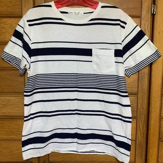 イッカ(ikka)のikka ボーダーTシャツ(Tシャツ/カットソー(七分/長袖))