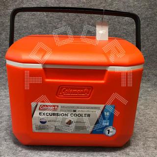 コールマン(Coleman)のコールマン エクスカーションクーラー 16QT オレンジ コラボ限定品(その他)