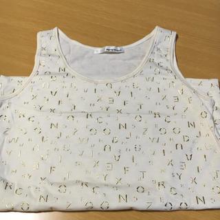 ミスティウーマン(mysty woman)のノースリーブ(Tシャツ(半袖/袖なし))