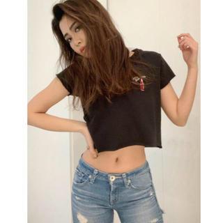ジェイダ(GYDA)のgyda コカコーラTシャツ黒(Tシャツ/カットソー(半袖/袖なし))