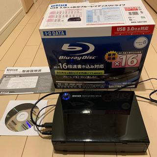 アイオーデータ(IODATA)のI・O DATE  USB 3.0外付ブルーレイディスクBRD-UAT16(PC周辺機器)