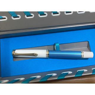Pelikan - ペリカン 万年筆 スーベレーン M600 ターコイズホワイト EF 新品 未使用