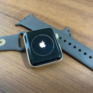 アップル(Apple)の⭐️美品⭐️腕時計 Apple Watch SERIES2 42MM ゴールド(腕時計(デジタル))