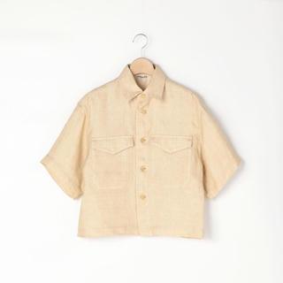コモリ(COMOLI)のAURALEE   今日だけ(シャツ/ブラウス(半袖/袖なし))