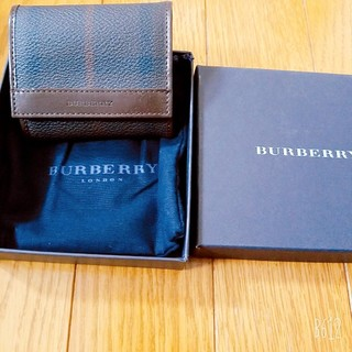 BURBERRY - [未使用]BURBERRY小銭入れ