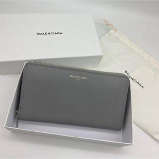 バレンシアガ(Balenciaga)のバレンシアガ   BALENCIAGA 長財布 新品 セール グレーユニセックス(長財布)