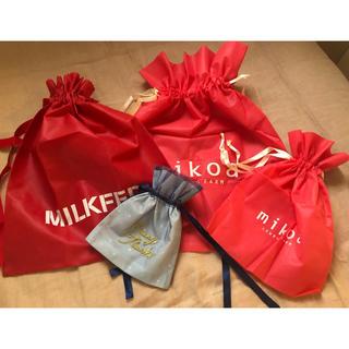 ミルクフェド(MILKFED.)のショップ袋 不織布 プレゼント ギフト 包装 ラッピング(ラッピング/包装)