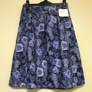 クチュールブローチ(Couture Brooch)のクチュールブローチ スカート 新品 40 テチチ 組曲 ロペピクニック 好にも (ひざ丈スカート)
