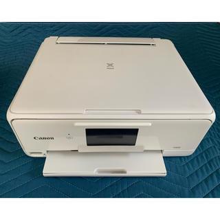 キヤノン(Canon)のCanon キャノンインクジェットプリンター TS8130 白 (ジャンク品)(OA機器)