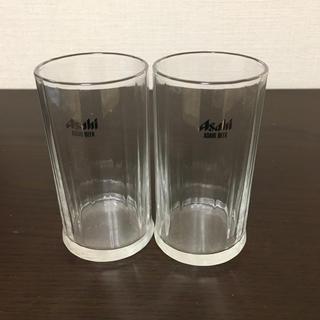 アサヒ(アサヒ)のビールグラス×2(グラス/カップ)