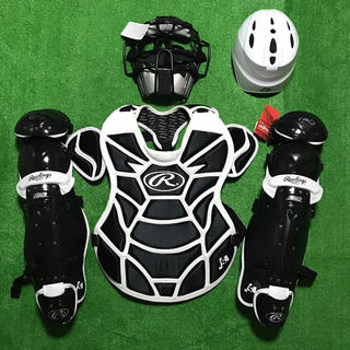 Rawlings - ★未使用品★ 一般ソフトボール用 キャッチャー 防具 ヘルメット 一部展示品