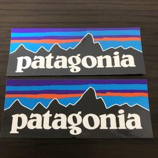 patagonia - (縦4cm横10.1cm)patagonia公式ステッカーp-62枚セット