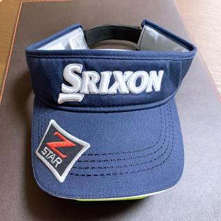 スリクソン(Srixon)のスリクソン SRIXON サンバイザー メンズ(サンバイザー)