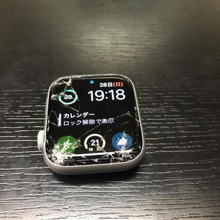 アップル(Apple)のapple watch 4  44mm ジャンク(腕時計(デジタル))