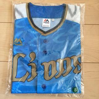 サイタマセイブライオンズ(埼玉西武ライオンズ)の西武ライオンズ ユニフォーム ブルー Sサイズ(ウェア)